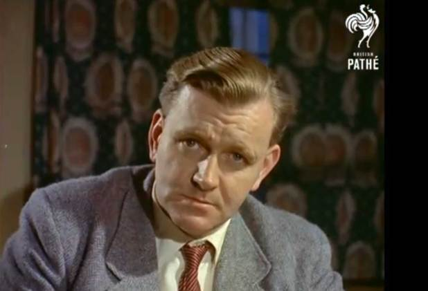 Frank Hampson in 1956. Image: British Pathe