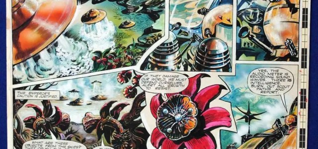 "A page of ""The Daleks"" from the 1960s comic TV Century 21 is currently being offered on eBay for close to £5000. The page, drawn by Richard Jennings, featured in […]"
