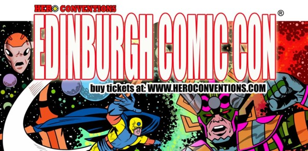 Easter Comic Cons in Scotland