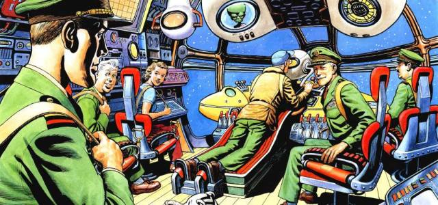 Notching up an impressive 35th issue, the latest 40-page issue of the Dan Dare-inpsired Spaceship Away is on sale now, available on subscription or as a single issue from […]