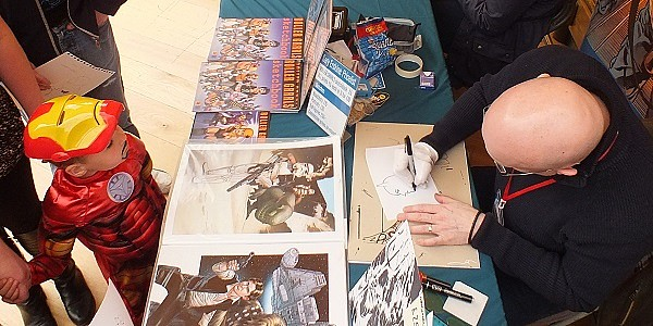 The Edinburgh University Students Union at Potterow was a popular place on the weekend of 11/12 April 2015 as the Edinburgh Comic Con took over the building. The second year […]