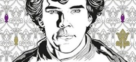 Mike Collins creates first official BBC Sherlock colouring book