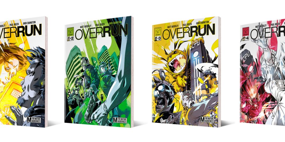 "Andi Ewington's ""Overrun"" project gets physical!"