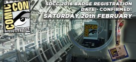 San Diego Comic Con 2016: Open Online Badge Registration announced for Saturday 20th February