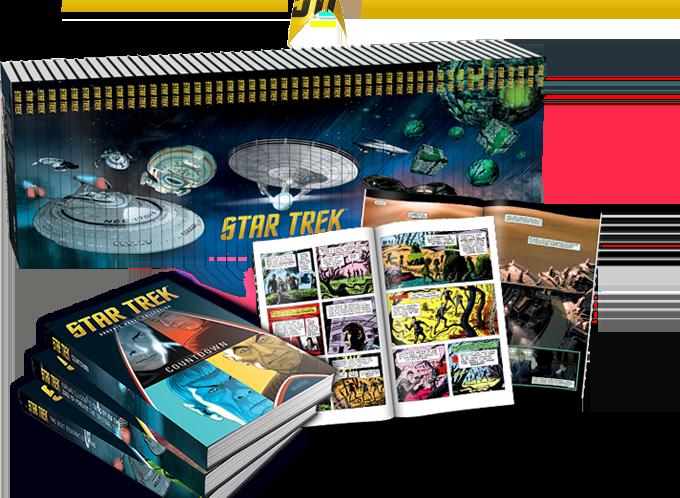 Eaglemoss Road Tests new Star Trek Graphic Novel Collection