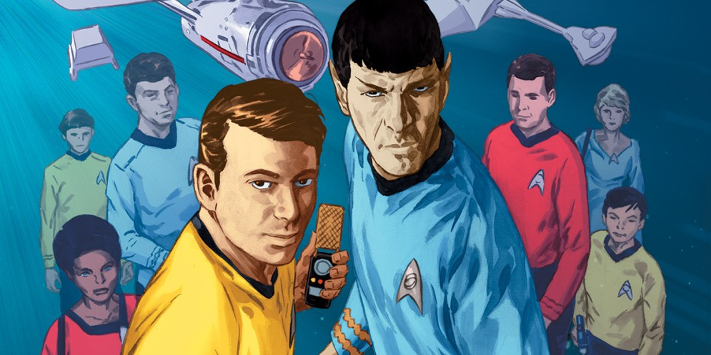 IDW announces new Star Trek anthology title, launches in September