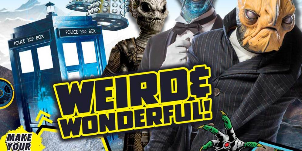 Weird and Wonderful! It's the new Doctor Who Adventures!