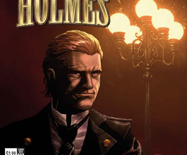 Early debut for Titan Comics Mycroft Holmes title at SDCC, Titan Comics Plans Unveiled