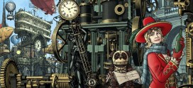 "Doctor Who artist Paul Hanley delivers ""Steampunk Iris"" (Wildthyme, that is)"