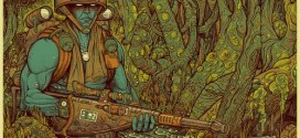 Vice Press release stunning new Rogue Trooper poster by Florian Bertmer