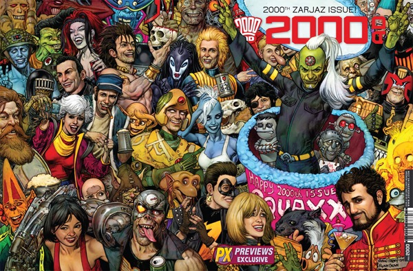Something For The Weekend (w/c 26th September 2016): 2000AD Prog 2000 is here! Party Alert!