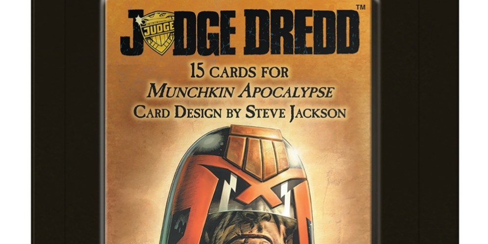 "Steve Jackson Games' ""Munchkin Apocalypse"" takes on Judge Dredd!"