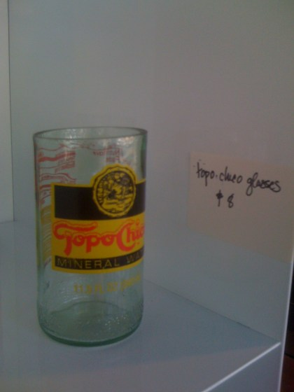 Topo Chico Glasses. $8 at IF+D.