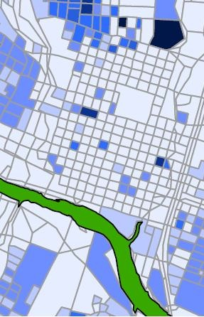 2000 downtown austin census blocks