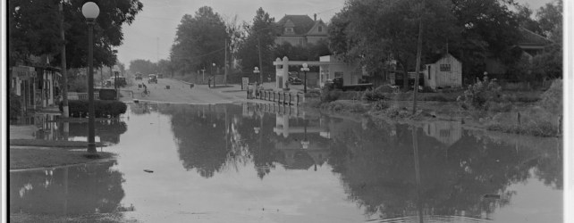 Photo Of Waller Creek Flooding In 1935