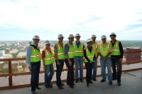 DANA members on the 37th floor of W Hotel Residences