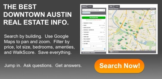 downtown austin condo search