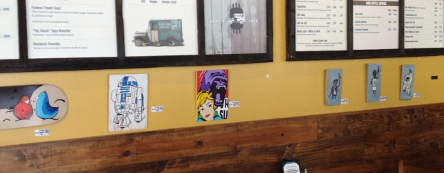 Artwork By Mike Johnston (The Day I Found Treasure At Austin Java)