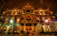 The fabulous Driskill Hotel during the holidays.