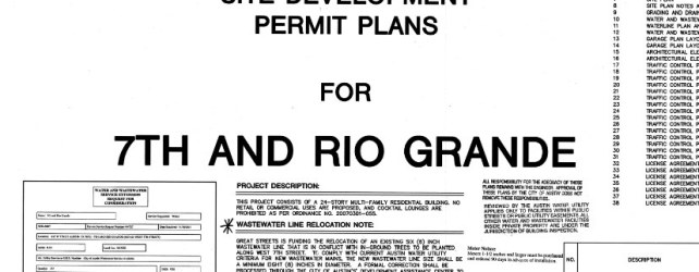 Marathon Planning Effort Pays Off: 7 Rio Site Plan Permitted, Awaiting Construction