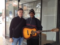 Me and Kevin Gant in downtown Austin