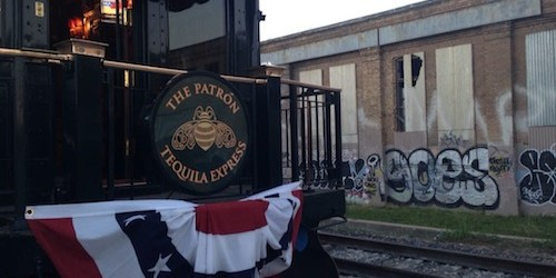 The Most Insane Private Railcar You've Ever Seen Visits Downtown Austin