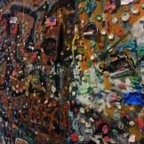 gum wall, up close