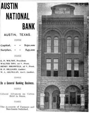 Newning, Charles A., editor. Texas Industrial Review, Volume 01, Number 03, October, 1895, Book, October 1895; (http://texashistory.unt.edu/ark:/67531/metapth39133/ : accessed August 05, 2015), University of North Texas Libraries, The Portal to Texas History, http://texashistory.unt.edu; crediting Austin History Center, Austin Public Library, Austin, Texas.