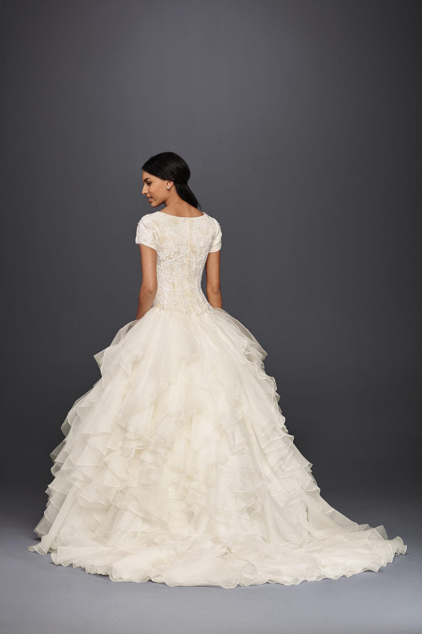 top 3 modest wedding dress trends ft davids bridal conservative wedding dress SLCWG IVYCHAMP OLEG PROD4