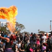 Experience the Strange & Unusual at the Seaport Village Busker Festival This Weekend