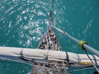 South Australian international cadet sailor Isobel Royle took part in an 11-day tall ship voyage on the Young Endeavour.