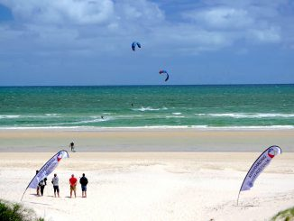 The Kitesurfing SA state titles were held at the Grange Sailing Club recently.