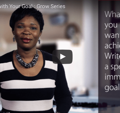Get Pregnant with Your Goal : 'GROW' series