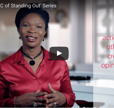 Behaviour : 'ABC of Standing Out' Series