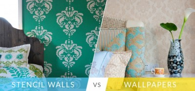 Stencil Paint Or Wallpaper: Which One Should You Choose?