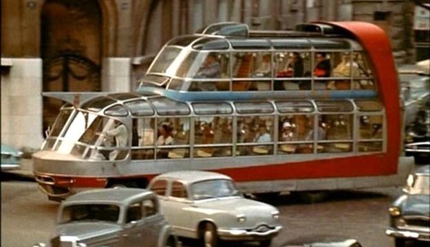 Paris Tour Bus 1950's