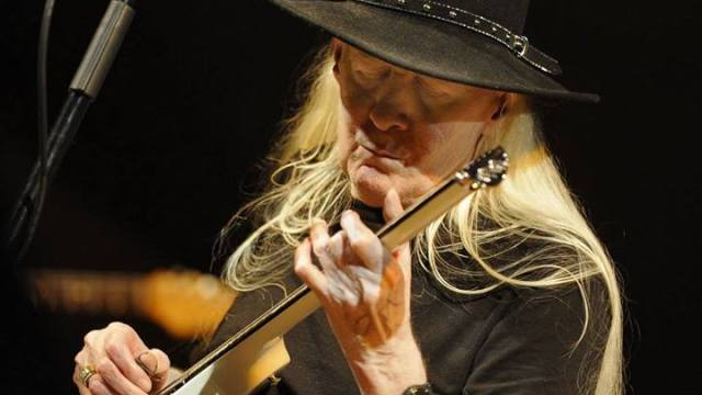 Texas Bluesman Johnny Winter