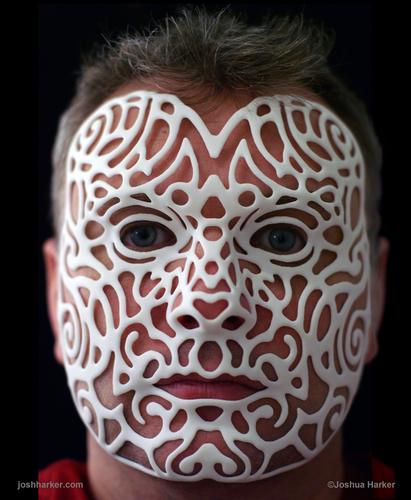 Custom 21st Century Portrait Mask 80063