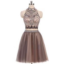 Small Of Two Piece Homecoming Dresses