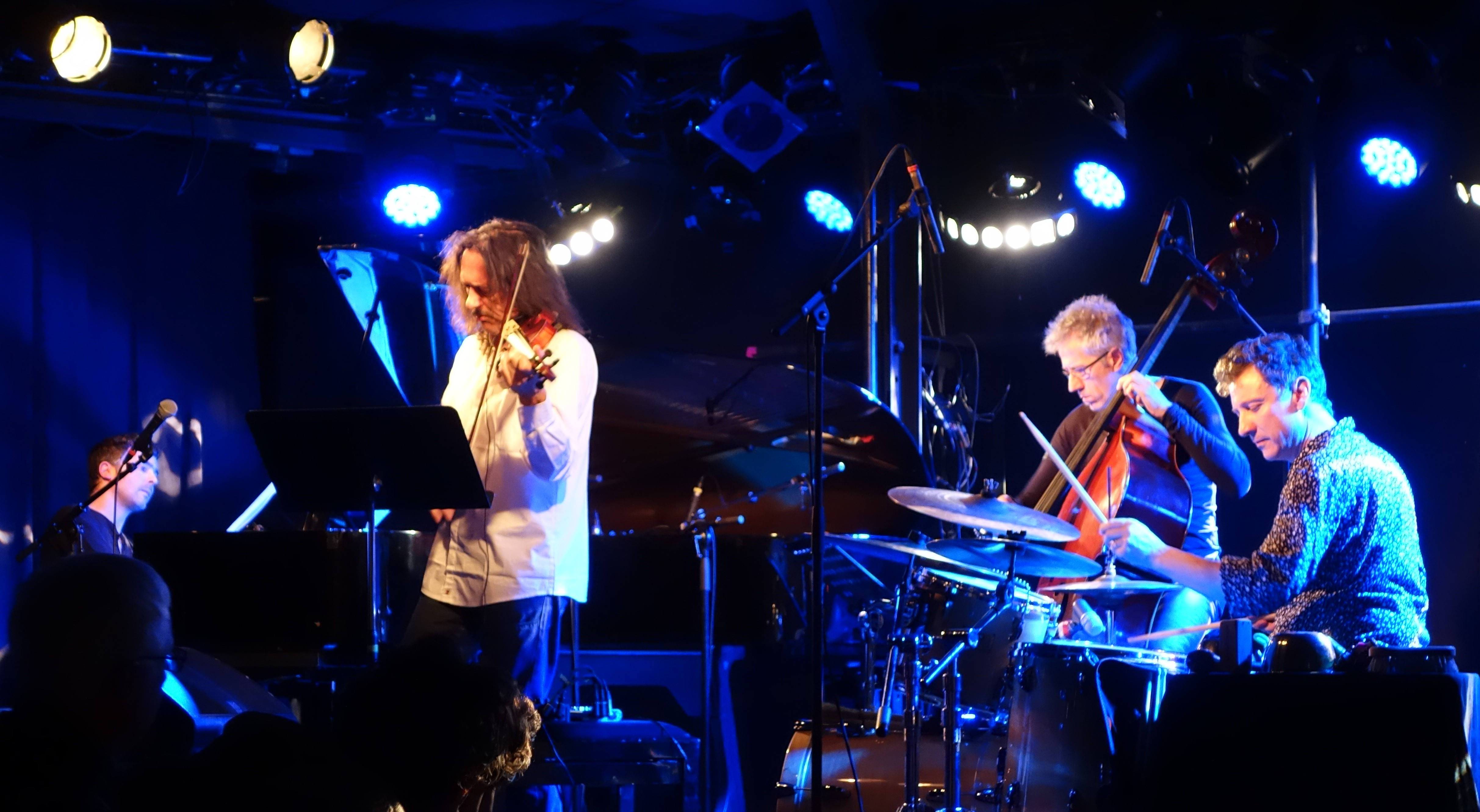 Dominique Pifarély Quartet, janvier 2015