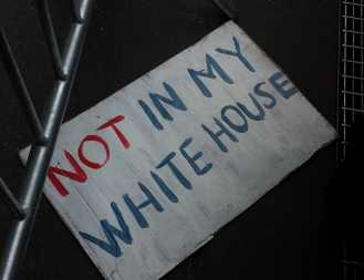 Not in my White House