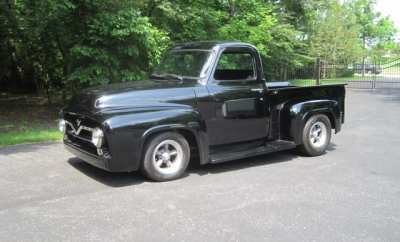 Paul Romine 55 Ford F-100