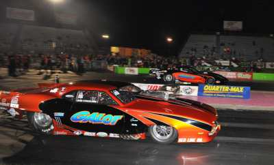 Pro Boost Winner Kevin Rivenbark far RO John Strickland near