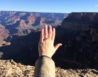 Grand Canyon and my new ring