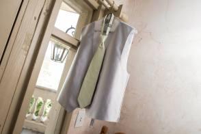 Groomsmen vest & tie.