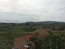 Tuscan countryside.