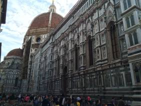 The Duomo cathedral in Florence. This thing was MASSIVE.
