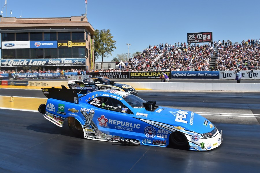 JOHN FORCE RACING TEAMS UP WITH GAINESVILLE BUICK GMC     DragStory com JOHN FORCE RACING TEAMS UP WITH GAINESVILLE BUICK GMC
