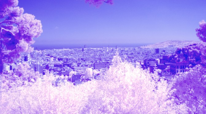 IR View over City - Barcelona