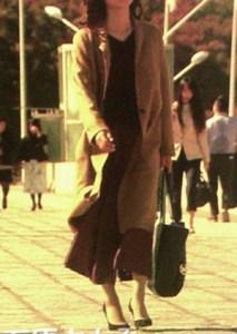 コートの丈はこれぐらい